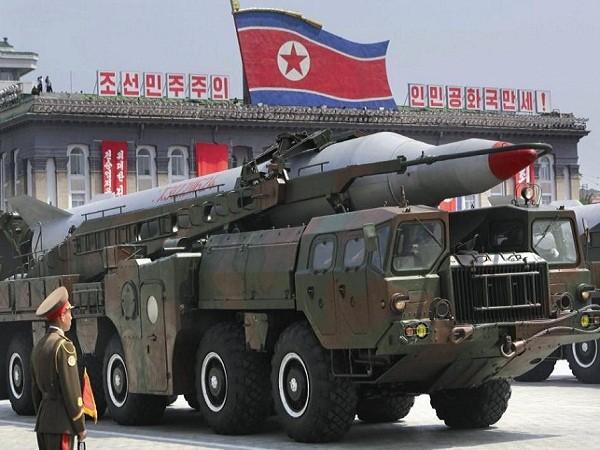 Tên lửa đạn đạo tầm trung Musudan của Triều Tiên