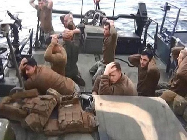 Các thủy thủ Mỹ bị hải quân Iran bắt giữ hôm 13-1