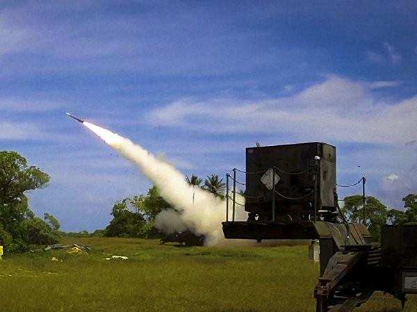Một vụ phóng thử hệ thống phòng thủ tên lửa Patriot PAC-3
