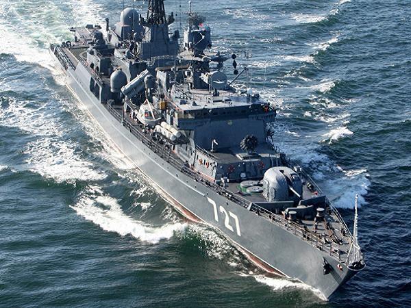 Kkhinh hạm Yaroslav Mudry của hải quân Nga