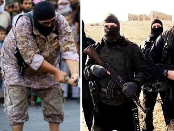 """IS thay đao phủ khét tiếng biệt danh """"Xe ủi"""" bằng một thánh chiến lực lưỡng hơn (trái)"""