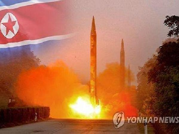Tên lửa đạn đạo của Triều Tiên (Ảnh minh họa)