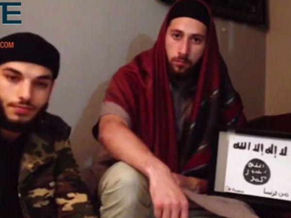 IS tung video lạnh gáy về 2 kẻ tấn công nhà thờ ở Pháp ảnh 1