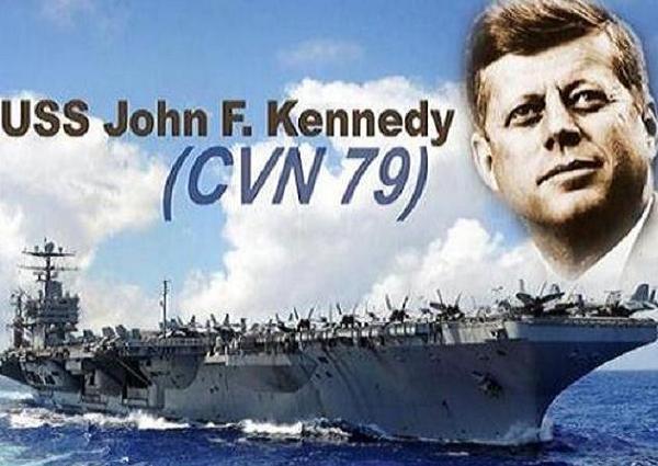 Hải quân Mỹ đã khởi đóng tàu sân bay thứ 2 thuộc lớp Ford mang tên USS John Kennedy (CVN 79)