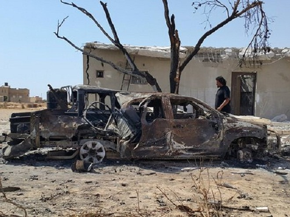Xung đột Libya: Nổ bom xe ở Benghazi, hàng chục người thương vong ảnh 1