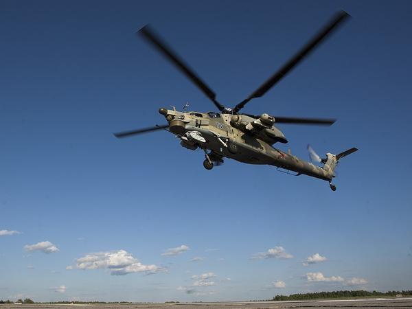 Máy bay trực thăng tấn công Mi-28N của quân đội Nga