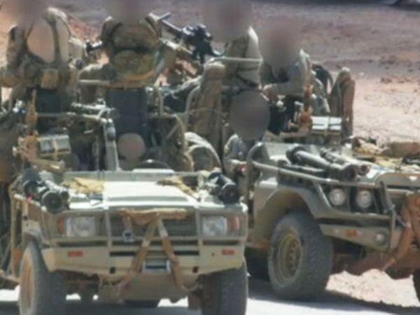 Lực lượng đặc nhiệm tinh nhuệ Anh xuất hiện trên mặt trận Syria ảnh 1