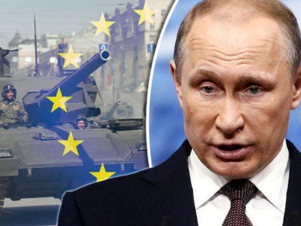 Xe tăng Nga đến biên giới châu Âu giữa lúc xảy ra bắn phá chết người ở Crimea ảnh 1