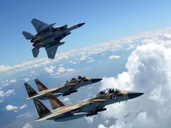 Máy bay F-15 của không quân Israel tham gia diễn tập Red Flag 2015 tại Nevada