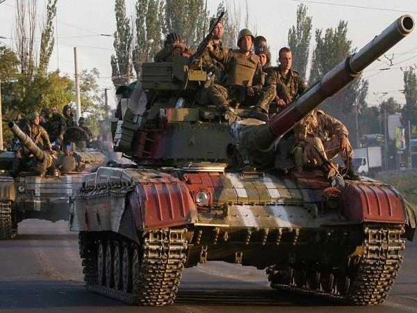 Xe tăng của quân đội Ukraine (Ảnh minh họa)
