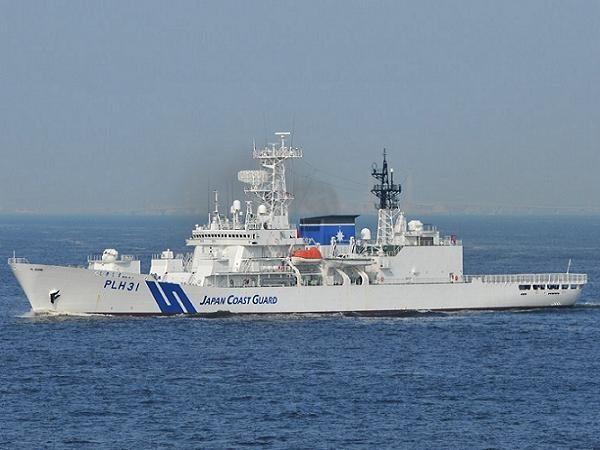 Tàu tuần tra bảo vệ bờ biển Nhật Bản (Ảnh minh họa)