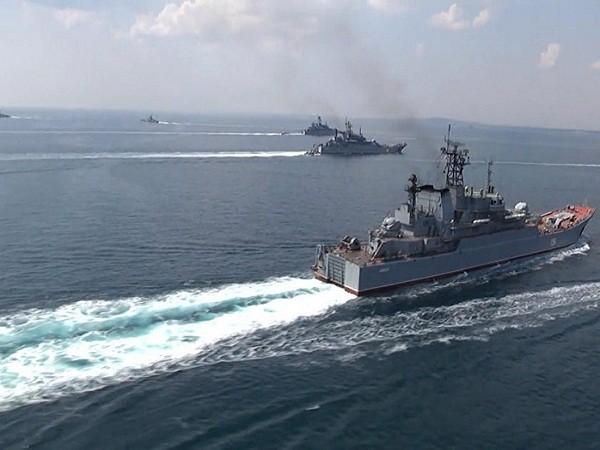 Hạm đội Nga tham gia diễn tập Kavkaz 2016