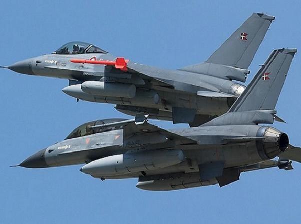 Chiến đấu cơ F-16AM của không quân Đan Mạch (RDAF)
