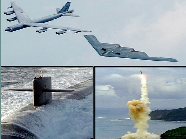 Bộ ba hạt nhân chiến lược của quân đội Mỹ