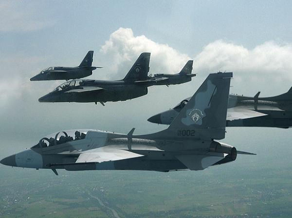 Máy bay chiến đấu FA-50 do Hàn Quốc chế tạo