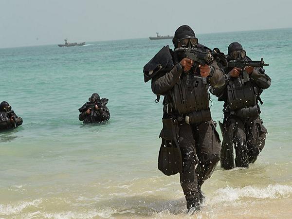 Binh lính Arap Saudi tham gia Diễn tập lá chắn Vùng Vịnh 1