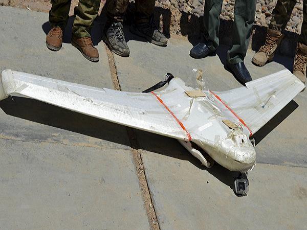 Một chiếc UAV của IS bị quân đội Iraq bắn hạ tại thành phố Fallujah
