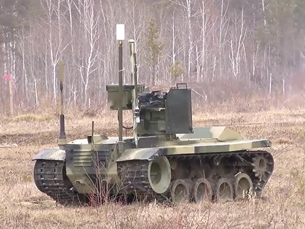 Robot bảo vệ cơ sở tên lửa vừa được Nga thử nghiệm