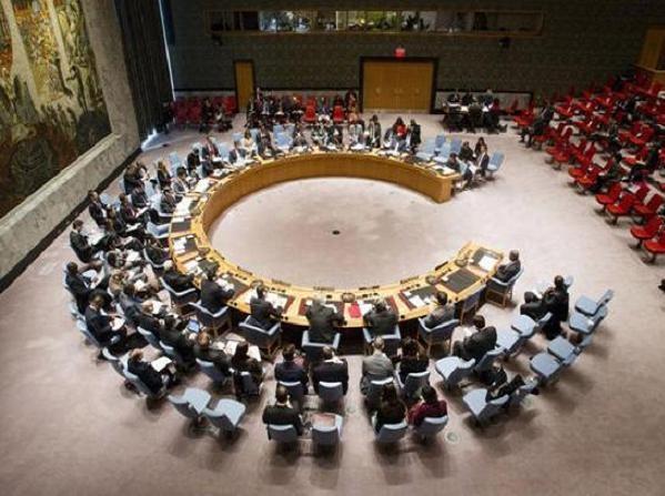 Toàn cảnh phiên họp của Hội đồng Bảo an Liên hợp quốc