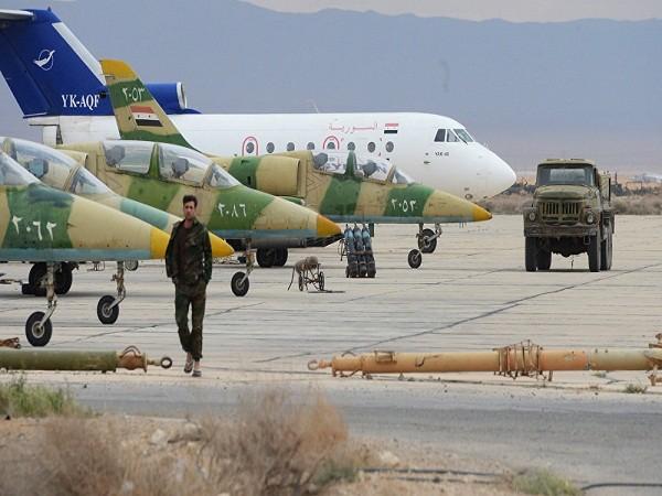 Các chiến đấu cơ L-39 của lực lượng không quân Syria