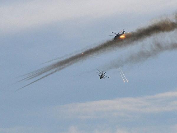 Các chiến đấu cơ Nga tấn công dồn dập vị trí của IS ở Palmyra