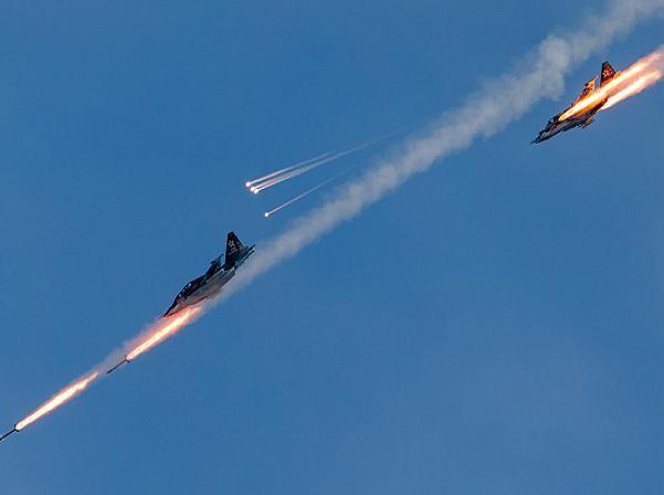 Không quân Nga đã thu đươc nhiều kết quả trong cuộc chiến chống khủng bố ở Syria