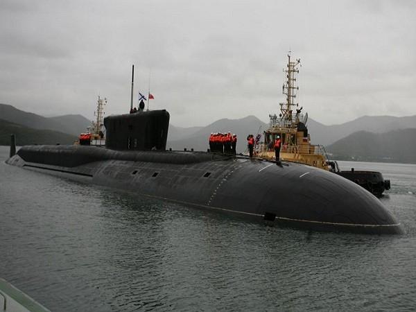 Tàu ngầm hạt nhân Alexander Nevsky của hải quân Nga