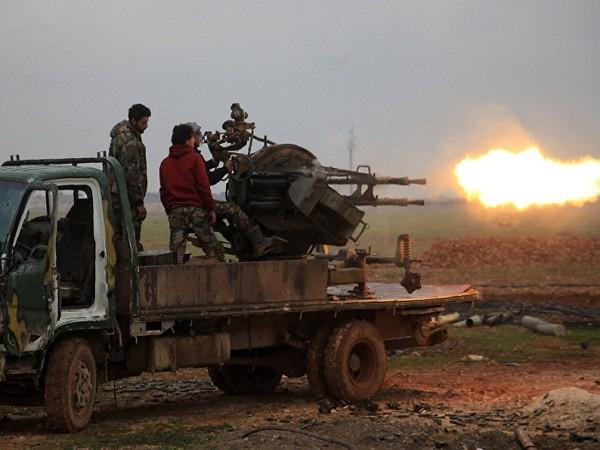 Quân đội Syria tấn công IS ở phía nam thành phố al-Bab