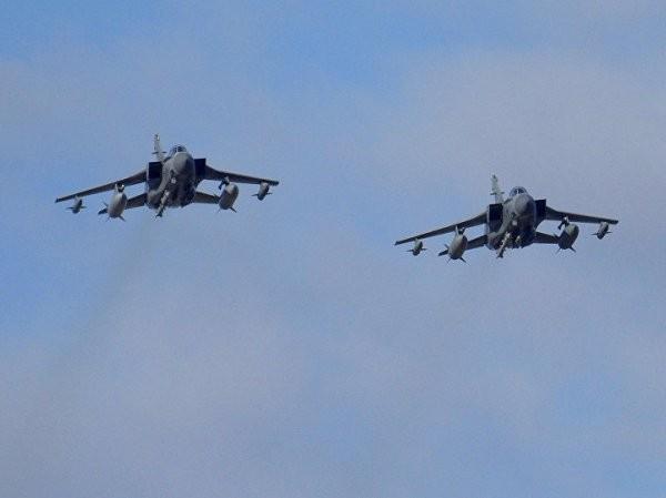 Hai chiến đấu cơ Tornados của Anh tham chiến diệt khủng bố ở Syria