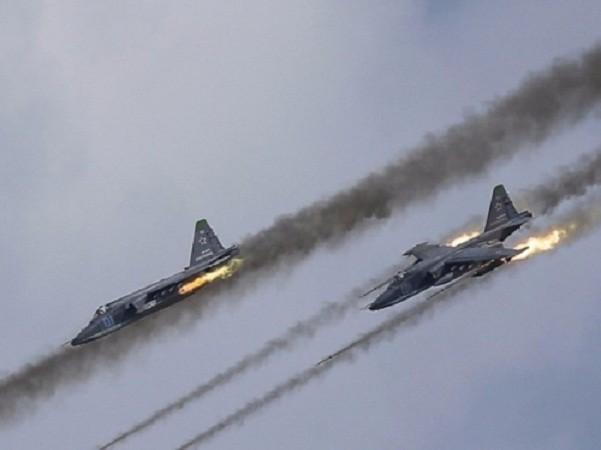 Các chiến đấu cơ Nga tiến hành không kích vị mục tiêu của phiến quân ở Đông Ghouta