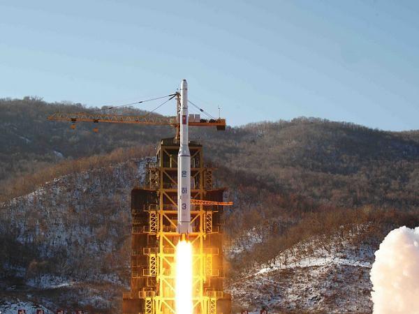 Một vụ phóng tên lửa tầm xa của Triều Tiên (Ảnh minh họa)