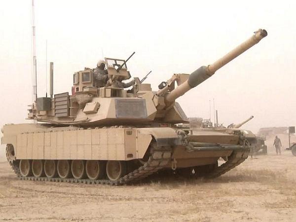 Xe tăng chiến đấu chủ lực M1A2 Abram của Mỹ