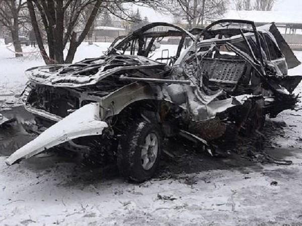 Chiến sự Ukraine: Chỉ huy cấp cao vùng Lugansk thiệt mạng trong vụ nổ xe ảnh 1
