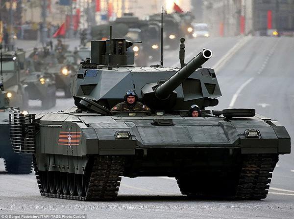 Xe tăng chiến đấu chủ lực T-14 Armata của Nga