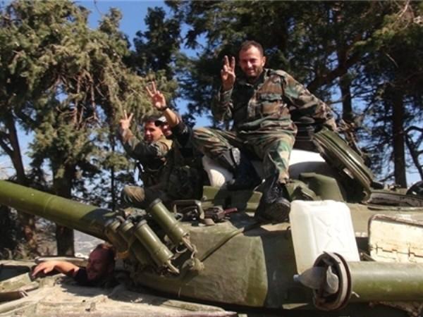 Syria đập nát trung tâm chỉ huy của al- Nusra ở Đông Damascus ảnh 1