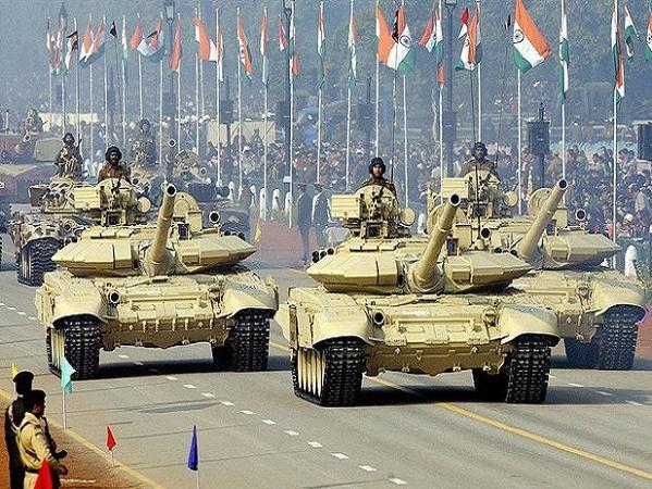 Xe tăng chiến đấu chủ lực T-90 trong biên chế lục quân Ấn Độ