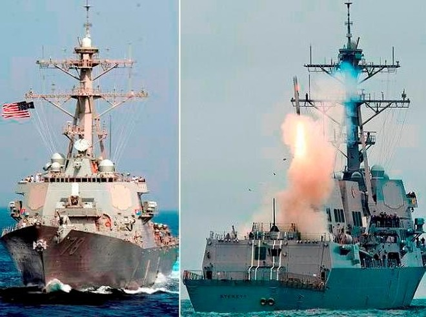 """Nga """"dằn mặt"""" khu trục hạm DDG-78 USS Porter của hải quân Mỹ"""