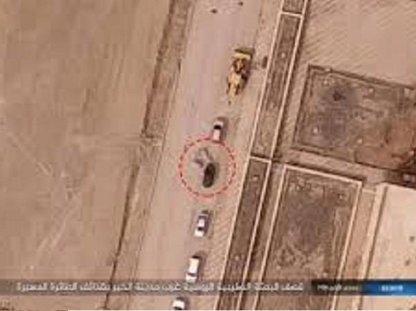 Máy bay không người lái của IS tấn công đoàn xe Nga ở Deir Ezzor ảnh 1