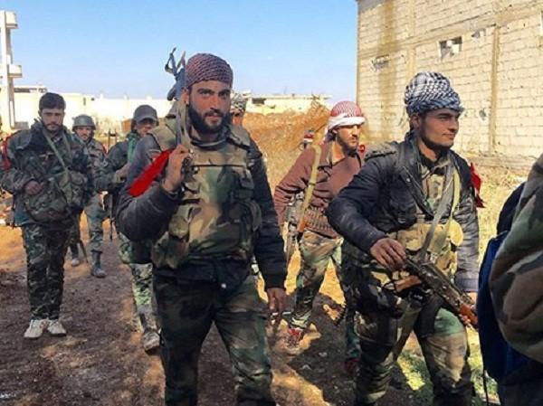 Quân đội Syria tiếp tục đà tiến ở Damascus ảnh 1