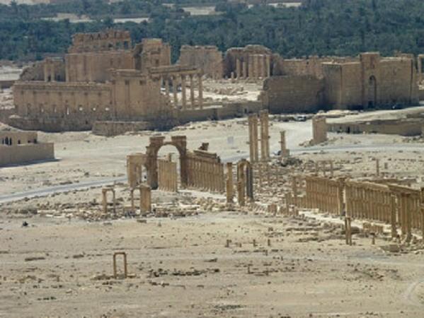 IS sắp mất Palmyra sau khi quân đội Syria xâm nhập thành phố ảnh 1