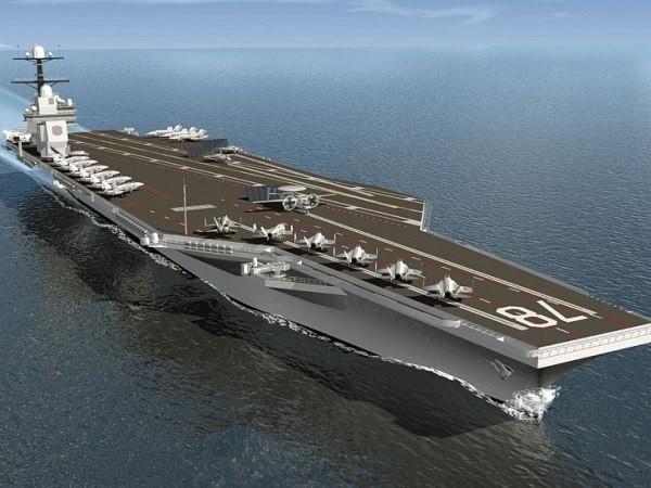 Tàu sân bay USS Gerald Ford của hải quân Mỹ