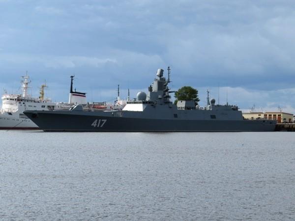 Tàu hộ tống Đô đốc Gorhkov của hải quân Nga