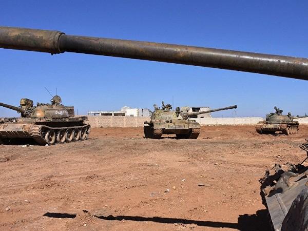 Quân đội Syria giành lại tháp nước chiến lược và nhiều ngôi làng ở Aleppo ảnh 1