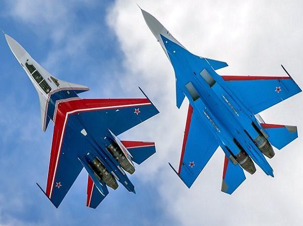 """Phi đội """"Tráng sĩ Nga"""" được trang bị tiêm kích thế hệ mới Su-30SM"""
