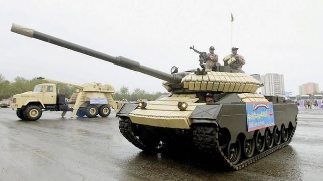 Xe tăng Tiam của Iran là sản phẩm lai của Mỹ-Trung Quốc