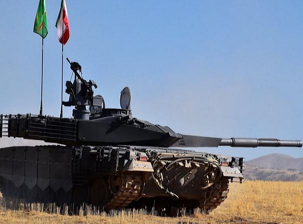 Xe tăng thế hệ mới Karrar được Iran chính thức công bố