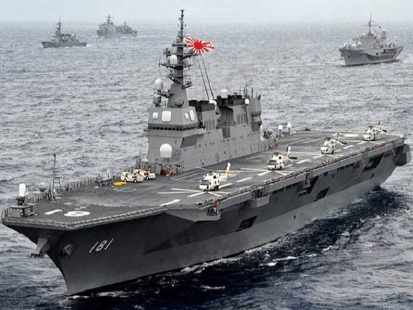 Trung Quốc dọa đáp trả nếu Nhật Bản đưa tàu chiến lớn nhất tới Biển Đông ảnh 1