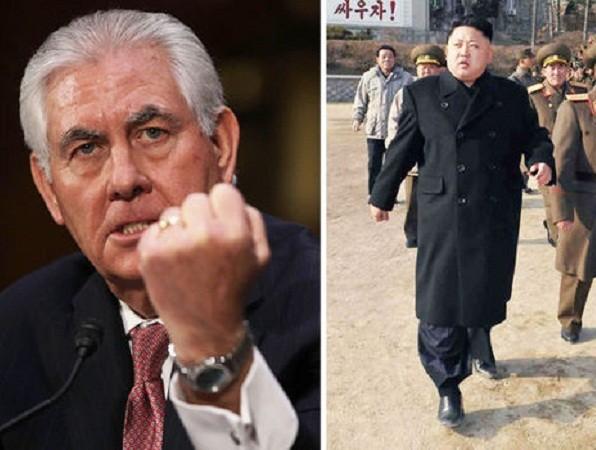 Mỹ tuyên bố hết kiên nhẫn chiến lược, có thể tấn công Triều Tiên ảnh 1