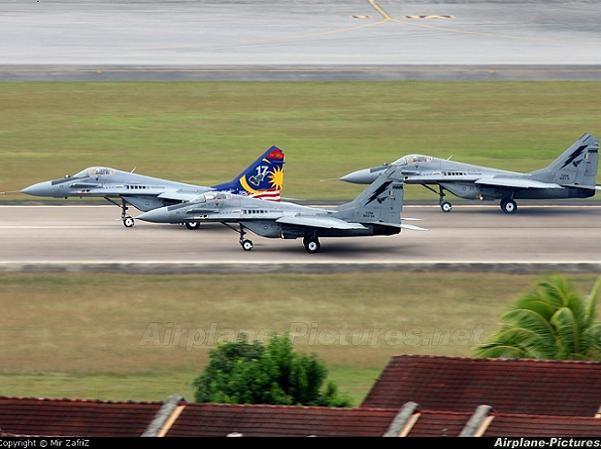 Phi đội máy bay MiG-29N của không quân Malaysia