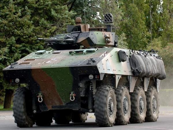 Xe chiến đấu bộ binh VBCI của Pháp